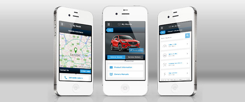 MyMazda app now available for your mobile