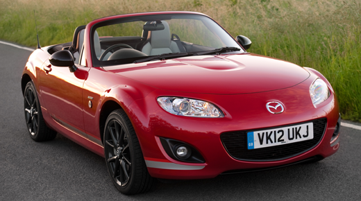 Mazda MX5 crowned Britain's most reliable car