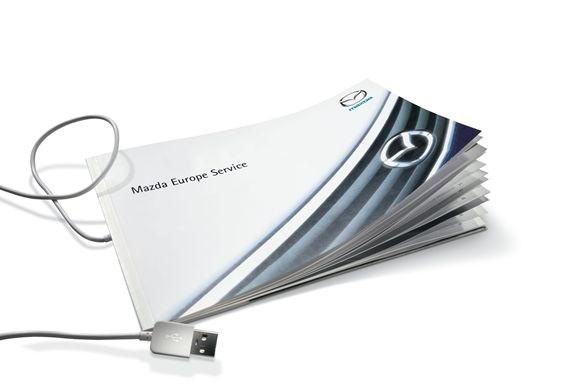 What is a Mazda Digital Service Record?