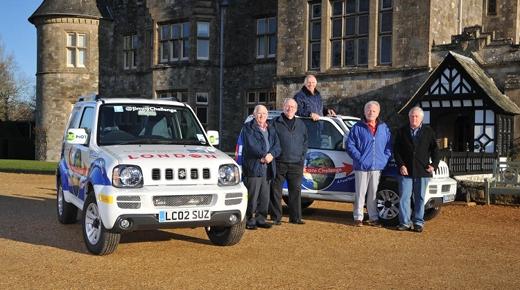Suzuki Jimny embarks on global charity expedition