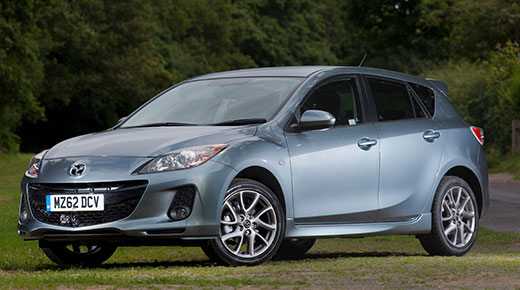 New Mazda 3 Venture Edition and Sport Nav models for 2013