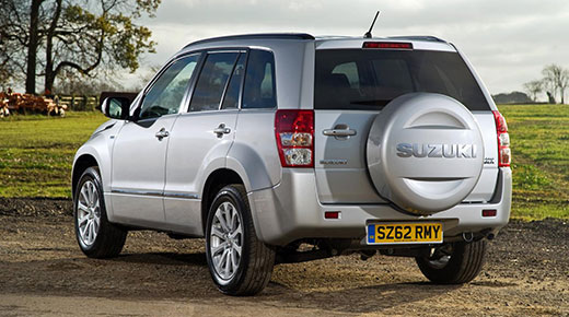 Suzuki Grand Vitara rear (c) Suzuki