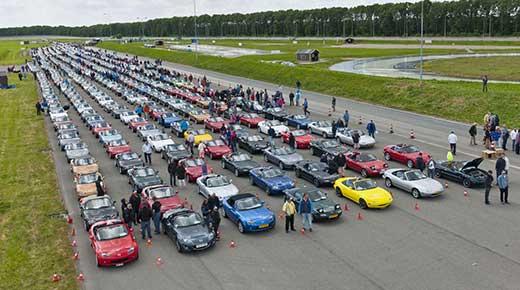 Mazda MX5 sets new world record