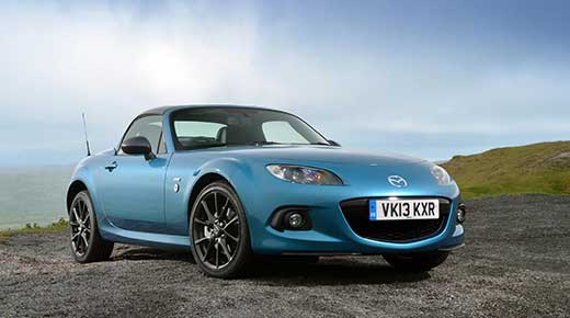 Revealed: exclusive new Mazda MX5 Sport Graphite Limited Edition