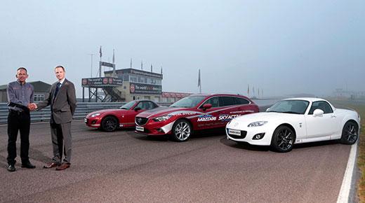 Mazda experience days motor into Thruxton
