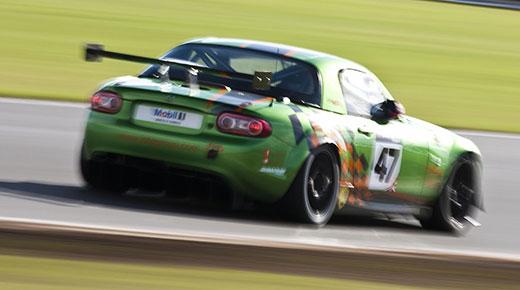 Mazda MX5 GT4 cup racer (c) Mazda
