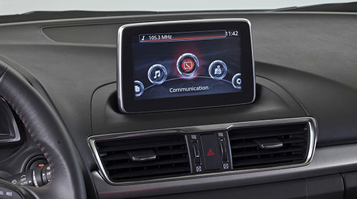 Mazda debuts new 'MZD Connect' in-car entertainment system