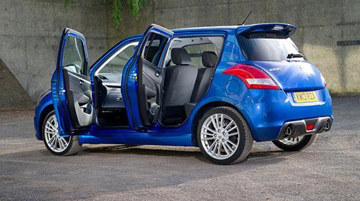 Suzuki Swift Sport five-door (c) Suzuki