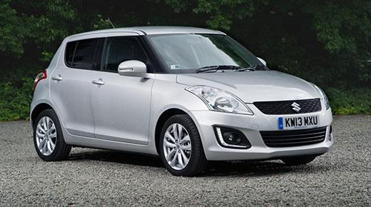 Suzuki Swift supermini facelift (c) Suzuki