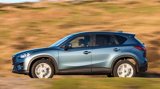 Mazda CX5 gets upgrades for 2014 © Mazda