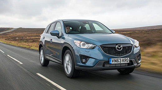 Mazda CX5 gets upgrades for 2014