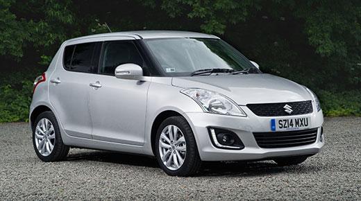 Suzuki Swift supermini updated
