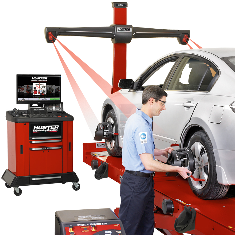 Hunter HawkEye Wheel Alignment System