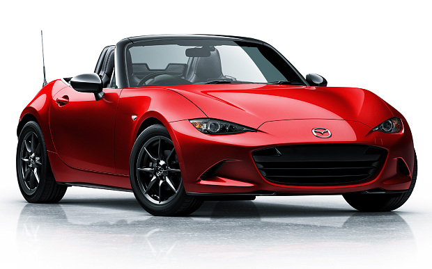 All New Mazda MX-5 Unveilled