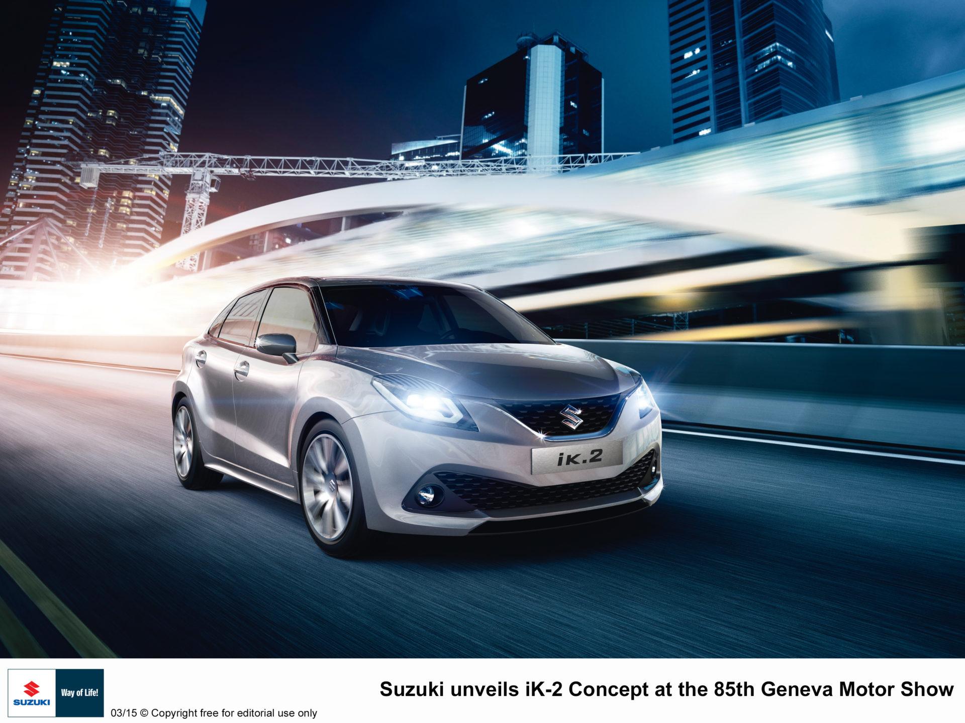 Suzuki Concept Cars in Geneva