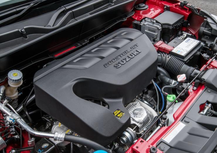 Suzuki Vitara Boosterjet engine