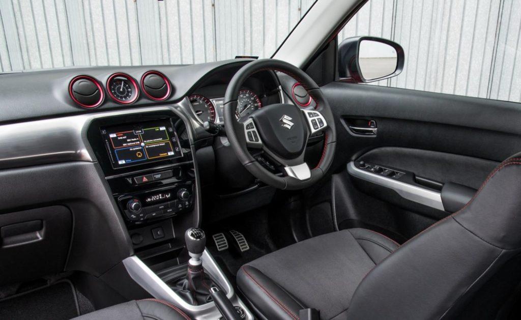 Suzuki Boosterjet interior