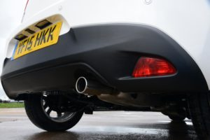Mazda2 Sport exhaust