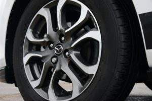 Mazda2 Sport alloys