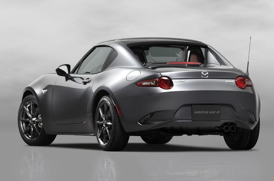 Mazda unveils new MX-5 RF retractable hardtop