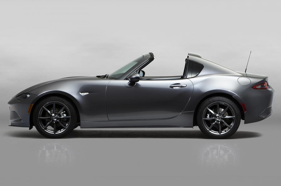 Mazda MX-5 RF side open