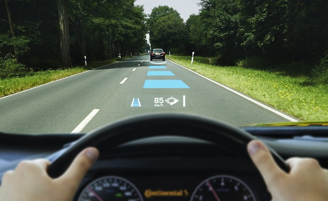 Augmented Reality in cars