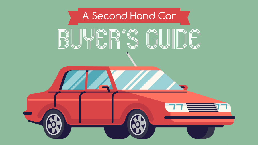 A Second Hand Car Buyer's Guide Infographic