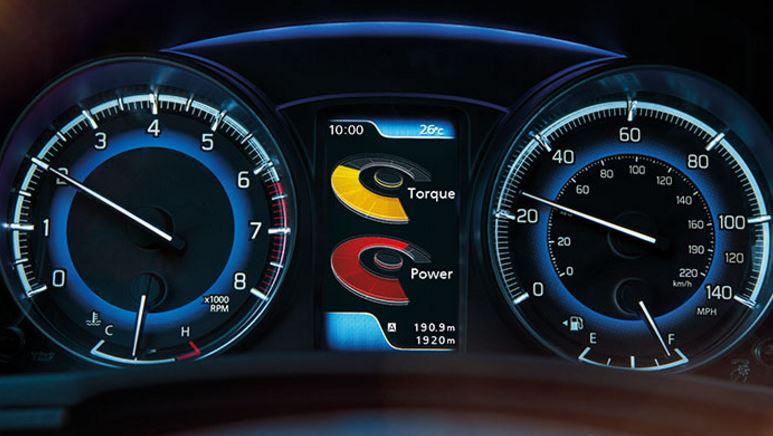 Suzuki Baleno interior dashboard. T W White & Sons