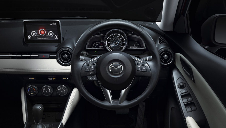 Mazda infotainment system | Mazda 2 review | T W White & Sons Blog