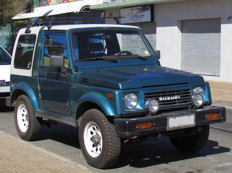 1981 Suzuki's SJ410