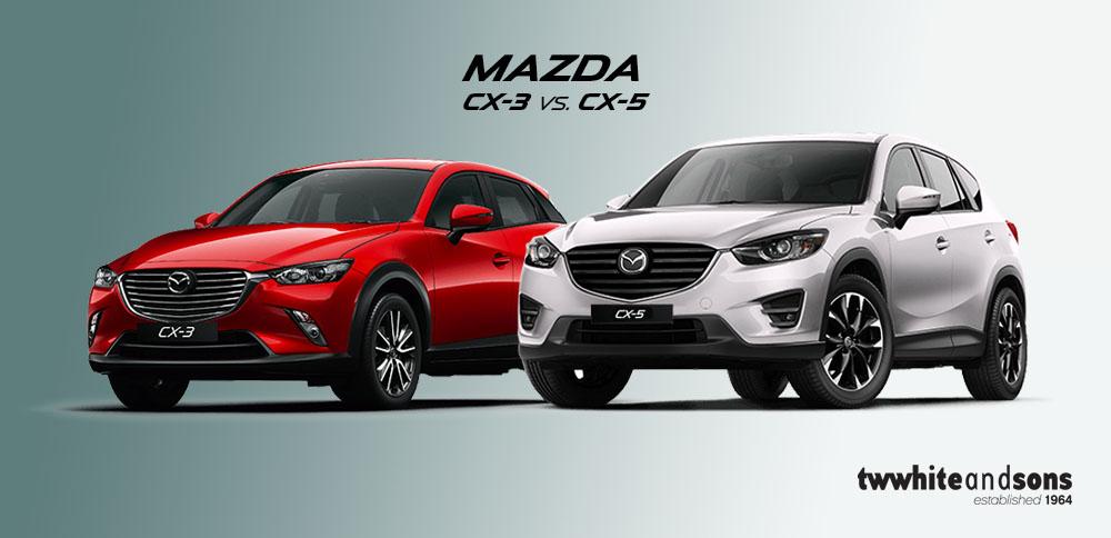 The Mazda CX-5 Vs. The Mazda CX-3