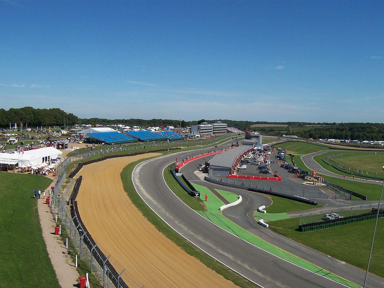 brands Hatch racetrack