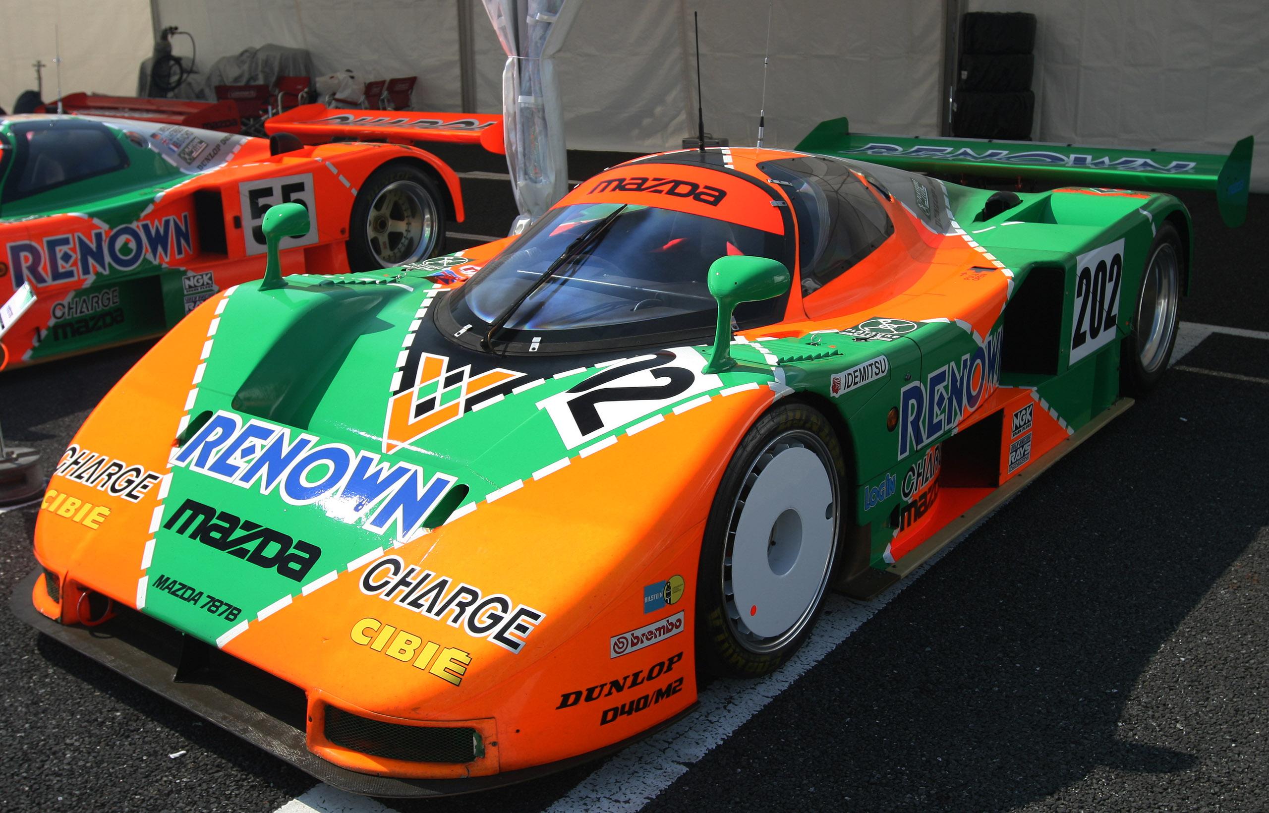 Mazda Le Mans racecar