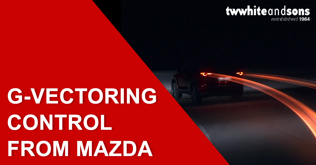 G-Vectoring Control from Mazda