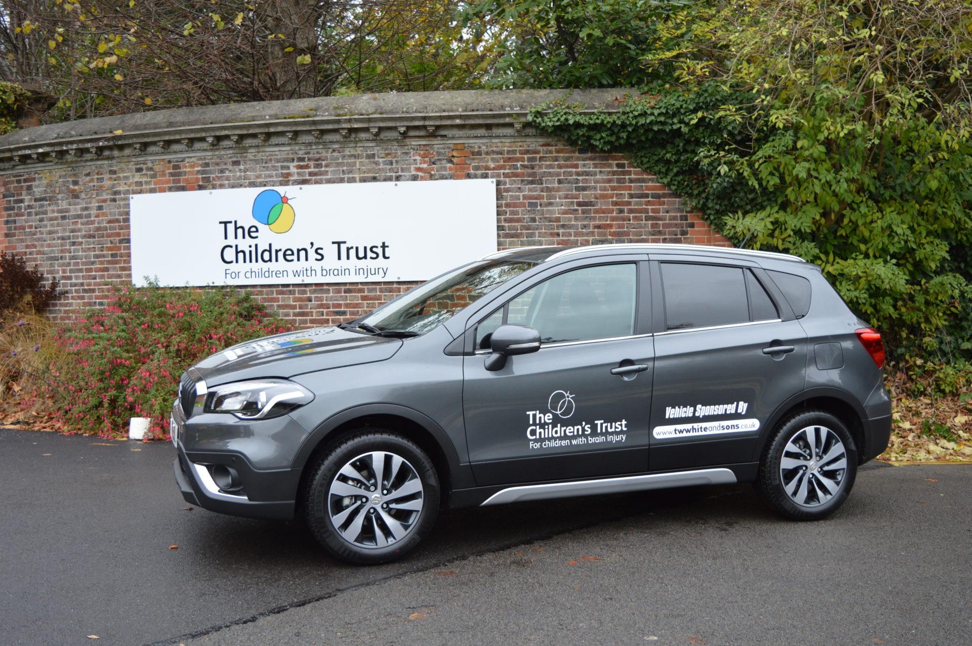 Suzuki S-Cross loaned to local children's charity