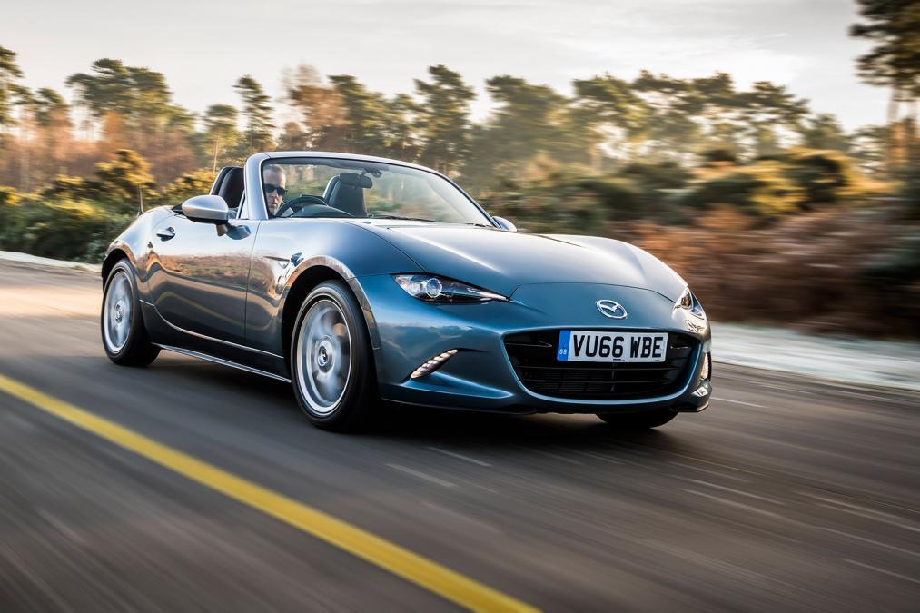 Mazda reveals MX-5 Arctic Edition