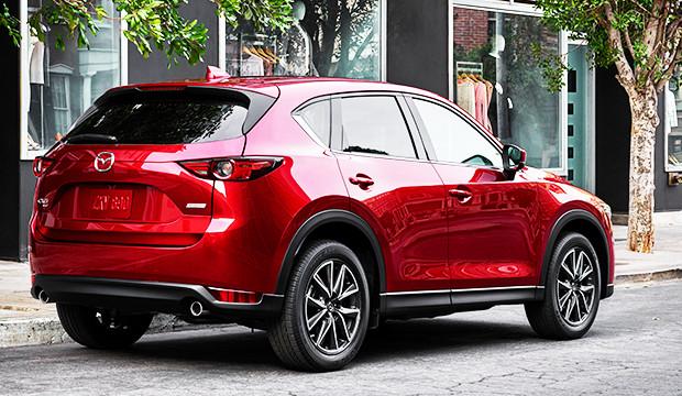 New Mazda CX-5 rear view