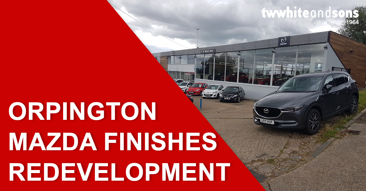 Orpington Mazda finishes redevelopment