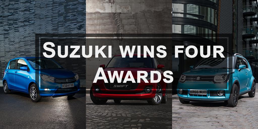 Four awards in four days for Suzuki