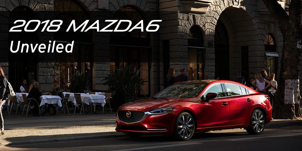 2018 Mazda 6 LA Motor Show reveal