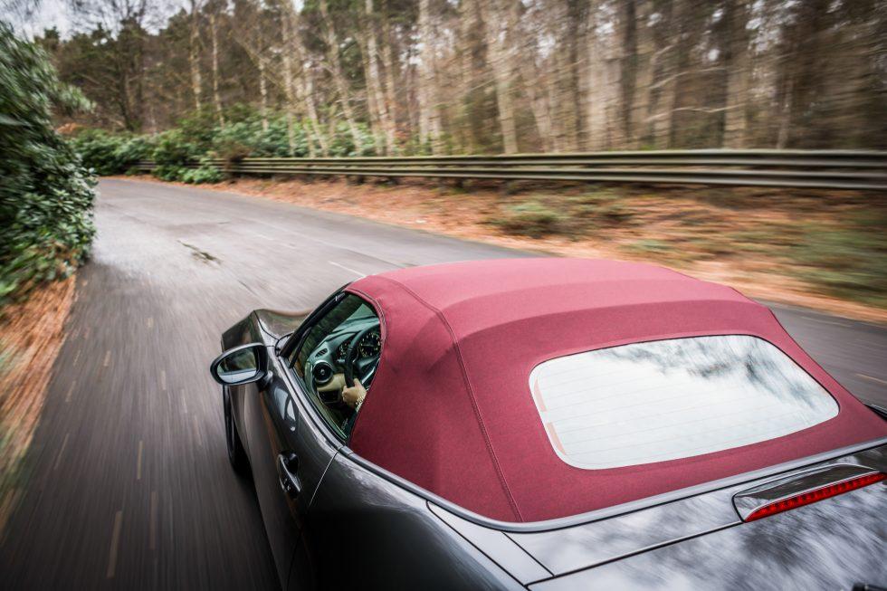 MX-5 Z-Sport driving canopy