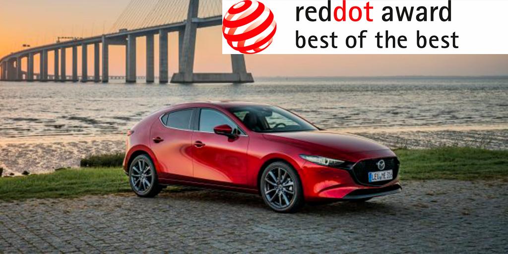 All-new Mazda 3 wins Red Dot Award