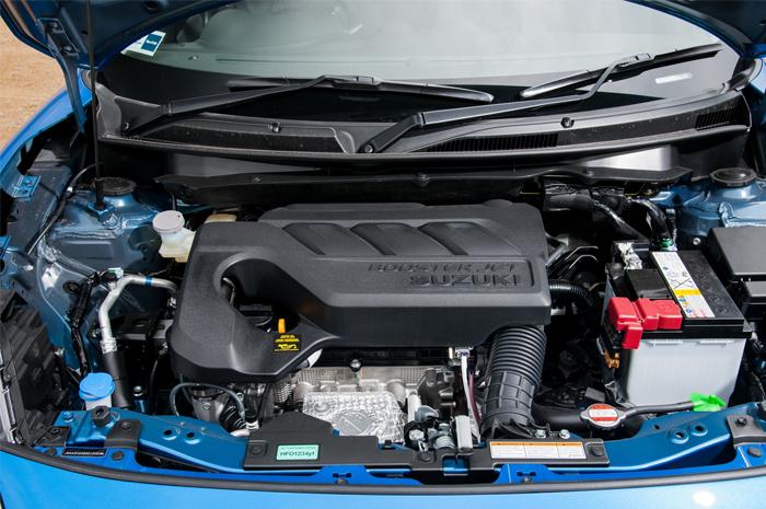 Suzuki Swift engine Boosterjet