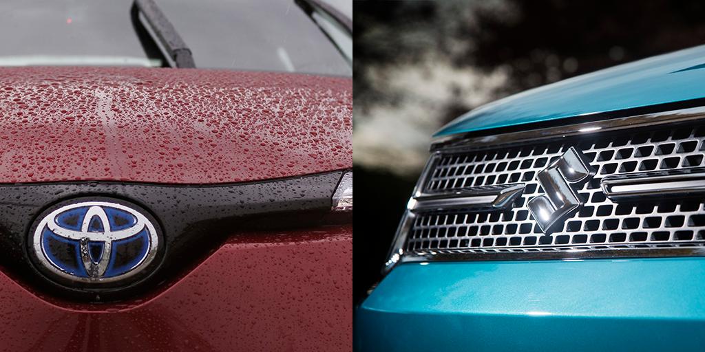 Suzuki and Toyota strengthen partnership