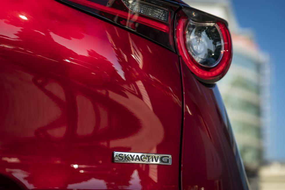 Mazda CX-30 SKYACTIV-G badge