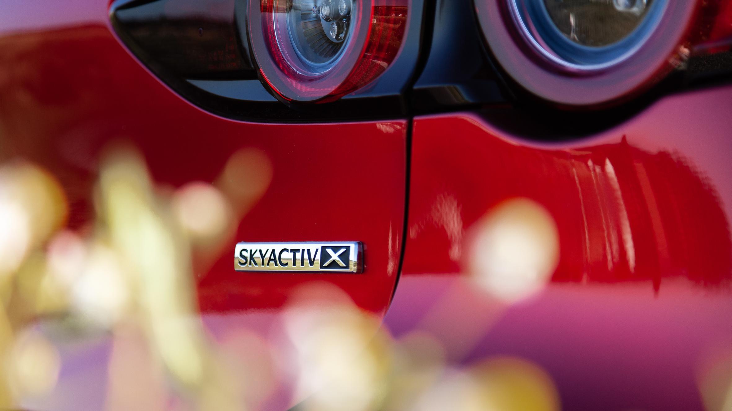 All-new Mazda 3 Skyactiv-X badge