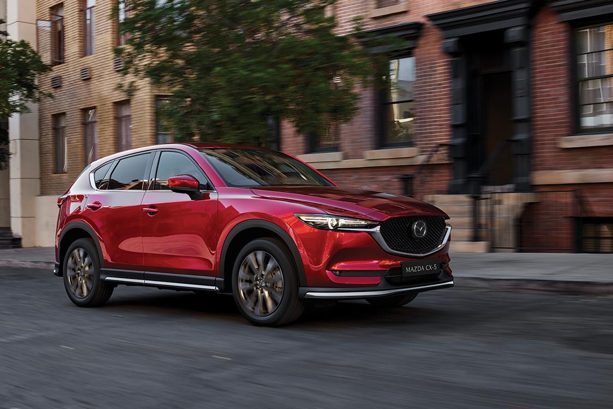 Mazda CX-5 wins WhatCar? Awards Best Large SUV