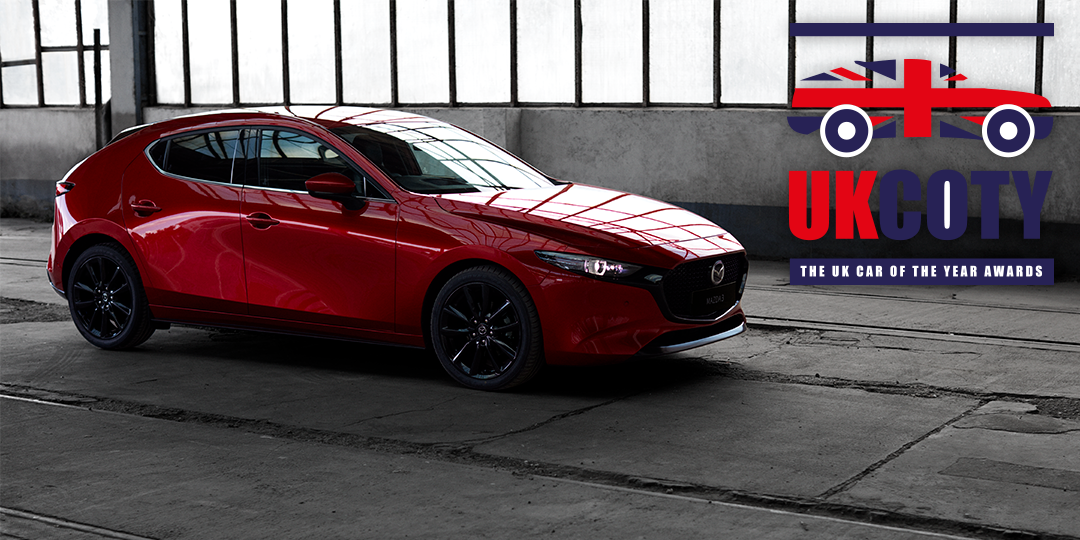 Mazda 3 wins Best Small Hatchback at 2020 UK Car of the Year Awards