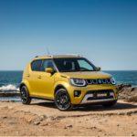 2020 Suzuki Ignis Rush Yellow Metallic front three-quarter