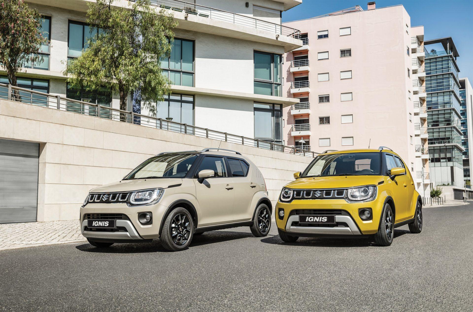 2020 Suzuki Ignis facelift revealed